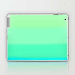 Cooling Aqua Autumn Sky Laptop & iPad Skin
