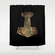Mjolnir Shower Curtain