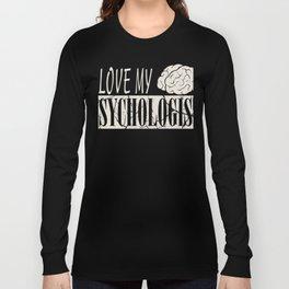 psychology gift psychologist soul psychiatrist Long Sleeve T-shirt