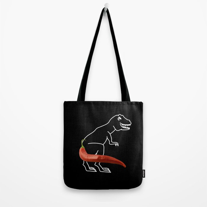 Spicy Rex Tote Bag