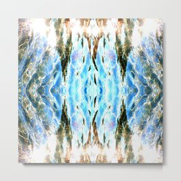 Shining liquid Metal Print