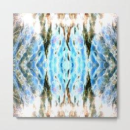 Shining liquid Metal Print