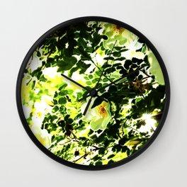 Filtering Light Wall Clock
