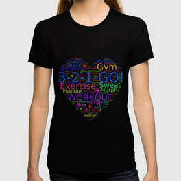 Love to Exercise & Work Out - Workout Love T-shirt