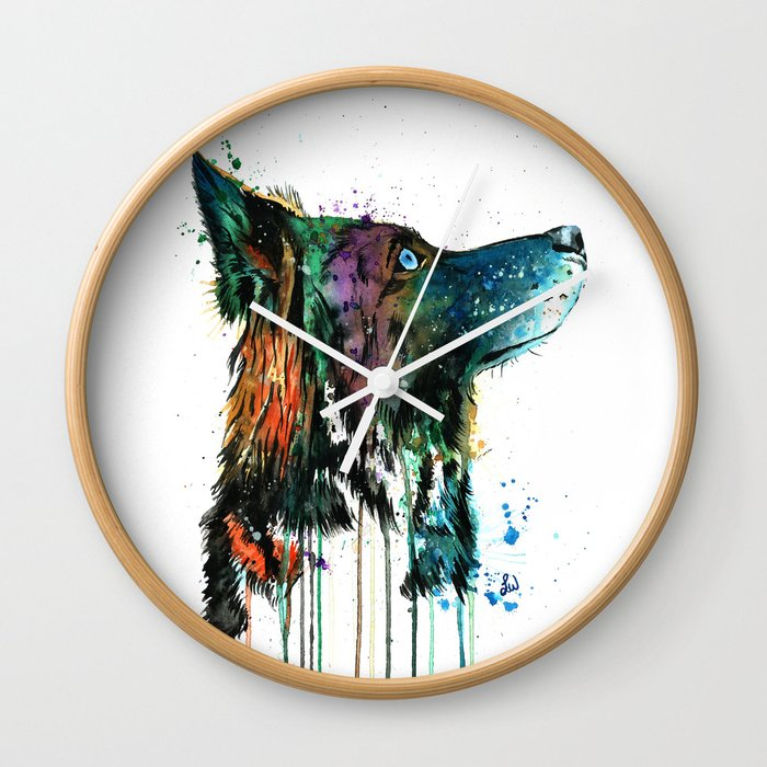 Husky - Anticipation Wall Clock