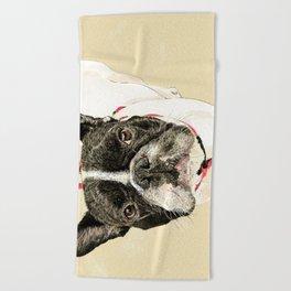 French Bulldog II Beach Towel