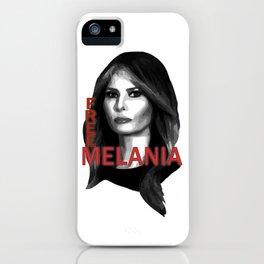 Free Melania iPhone Case