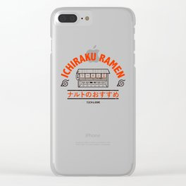 Ramen Art Print Clear iPhone Case
