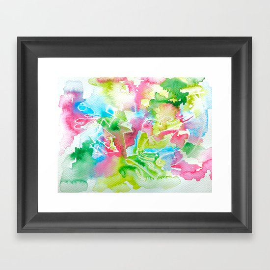 garden secrets Framed Art Print