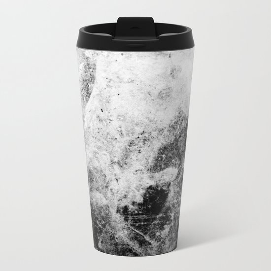 Abstract XVII Metal Travel Mug