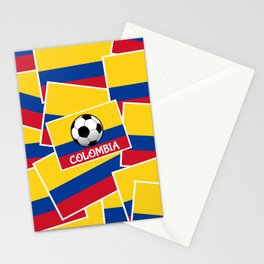 Colombia Football Stationery Cards