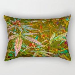 Bud Lace Rectangular Pillow