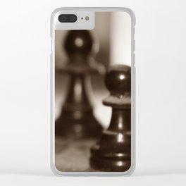 Fun & Games Clear iPhone Case