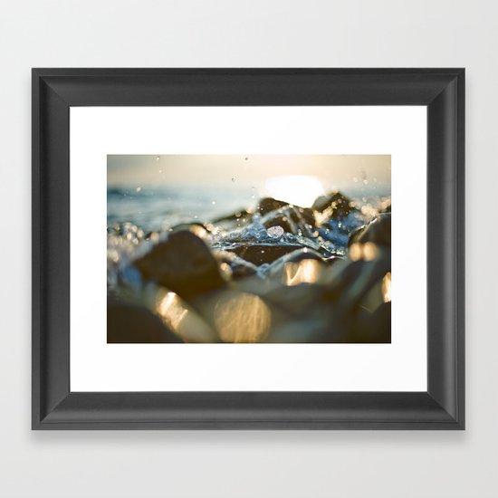 Glittering, shimmering ... Framed Art Print
