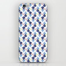 Pyramid lines iPhone & iPod Skin