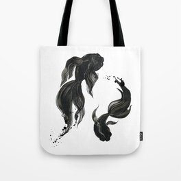 Koi fishes Tote Bag