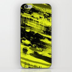 Study In Yellow - Abstract, yellow painting iPhone & iPod Skin