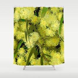 Wattle Shower Curtain