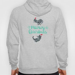 Meowy Christmas – Mint Type Hoody