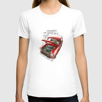 mini cooper T-shirts featuring Mini Cooper Classic in Red by Swasky