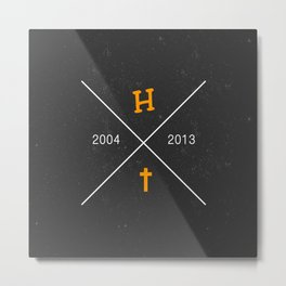 H X † - make the logo bigger Metal Print