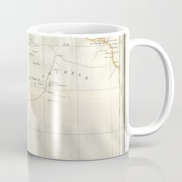 Map, Palestine, holy, land, syria, isreal, province, gaza, strip, jerusalem, Coffee Mug