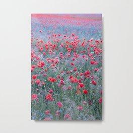 Poppy Seed Heaven Metal Print