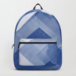 Untitled No. 8 | Blue + White Backpack