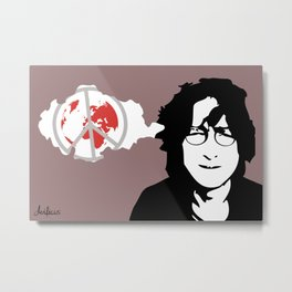 Imagine - John Metal Print