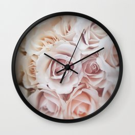 In the Pink Wall Clock