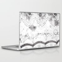 notebook Laptop & iPad Skins featuring Notebook Collage by Ellie And Ada