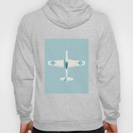 P51 Mustang Fighter Aircraft - Sky Hoody