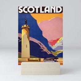 Vintage Scotland Travel Scottish Motor Traction 1935 Mini Art Print