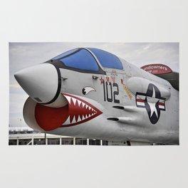 1957 F-8K Crusader Rug