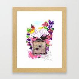 Mountain Goats Framed Art Print