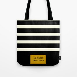 Gold Plated Nonsense Tote Bag