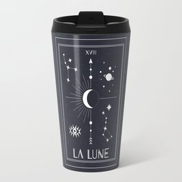 The Moon or La Lune Tarot Travel Mug