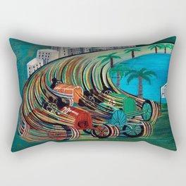 Grand Prix Racing, Monaco by Pippo Rizzo Rectangular Pillow