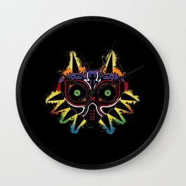 Majora's Splat! v.3d Wall Clock