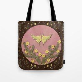 Moon Moth Tote Bag
