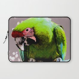Endangered Great Green Macaw Laptop Sleeve
