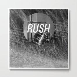 Rush Metal Print