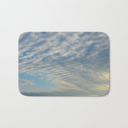 Cirrusly Stratus Waves Bath Mat