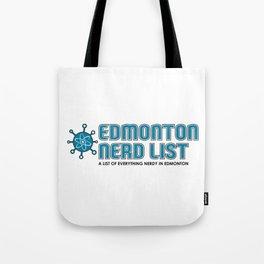 Edmonton Nerd List (Colour on light) Tote Bag