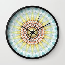 Mandala wintersun Wall Clock