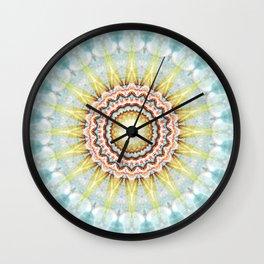 Mandala wintersun Wall Clock