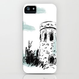 Longwood Gardens, PA Travel Sketch iPhone Case