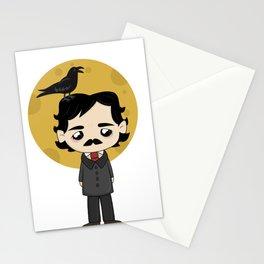 Cute Edgar Allan Poe Stationery Cards