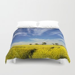 Golden Springfield Duvet Cover