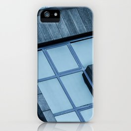 Abstract View of Modern Buildings iPhone Case